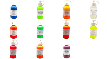 Airbrushfarbe Fluo - UV