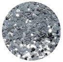 Standard Glitter Silber 1,0 mm 50 ml