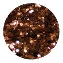 Standard Glitter Braun 0,4 mm 20 ml