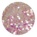 Irisierendes Glitter pink 1,0 mm 50 ml