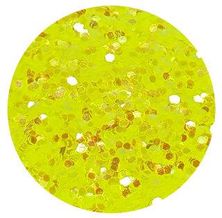 UV Glitter Gelb