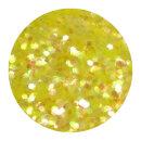 UV Glitter Gelb 0,4 mm 100ml