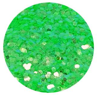 UV Glitter Grün