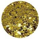 Standard Glitter Gold 0,4 mm 50 ml