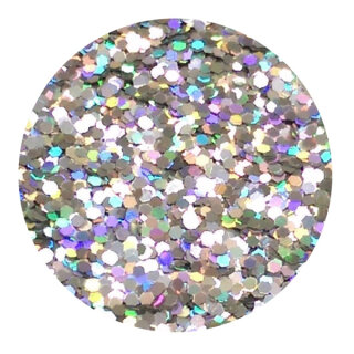 Holografisches Glitter Silber