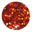 Holografisches Glitter Rot 1,5 mm 20 ml