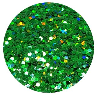 Holografisches Glitter Dunkelgrün