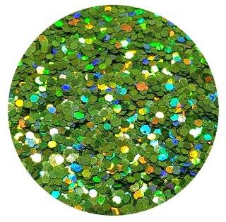 Holografisches Glitter Hellgrün