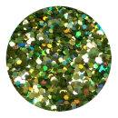 Holografisches Glitter Hellgrün 1,5 mm 20 ml