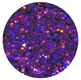 Holografisches Glitter Lila