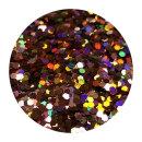 Holografisches Glitter Motoroil 0,4 mm 100 ml