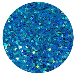 Holografisches Glitter Hellblau