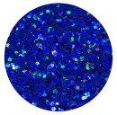 Holografisches Glitter Royalblau