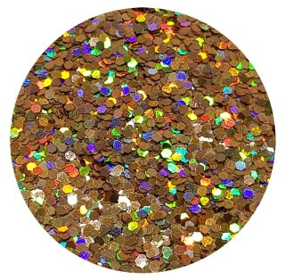 Holografisches Glitter Rotgold