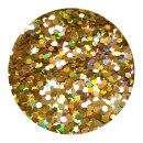 Holografisches Glitter Rotgold 1,0 mm 50 ml