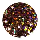 Holografisches Glitter Kupfer 0,4 mm 100 ml