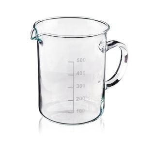 Messbecher aus Borosilikatglas - 400ml - Laborglas 400ml