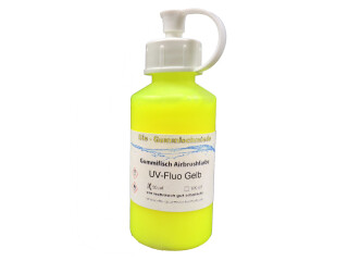 Airbrushfarbe UV-Fluo gelb 100 ml