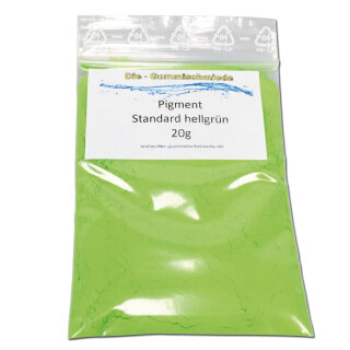 Pigment Standard hellgrün 20g