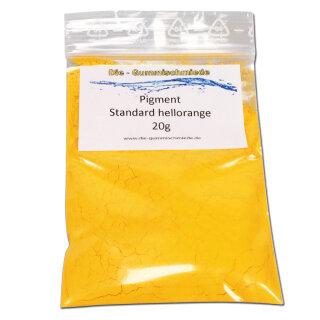 Pigment Standard hellorange 20g