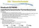 Shadrock EXTREME - superharte keramische Formenbaumasse