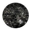 Crushed Ice Glitter Schwarz 20 ml