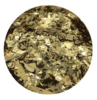 Crushed Ice Glitter Gold